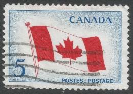 Canada. 1965 Inaugaration Of National Flag. 5c Used - 1952-.... Reign Of Elizabeth II