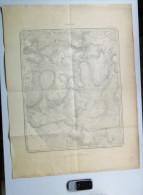 1 GRANDE CARTE D ETAT-MAJOR DOHAN-SUR-SEMOIS Bouillon Année1890 NOIREFONTAINE AUBY LES-HAYONS BLANC-SART S302 - Cartes Topographiques