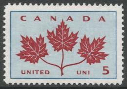 """Canada. 1964 """"Canadian Unity"""". 5c MH - 1952-.... Reign Of Elizabeth II"""