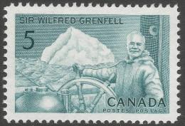 Canada. 1965 Birth Centenary Of William Grenfell. 5c MH - 1952-.... Reign Of Elizabeth II