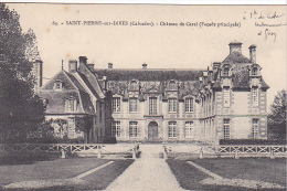 23264 Saint Pierre Sur Dives Chateau De Carel Facade Principale - Ed 64 Landais Buraliste -