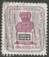 Canada. 1967 50th Anniv Of Women's Franchise. 5c Used - 1952-.... Reign Of Elizabeth II
