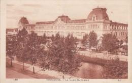 Cp , Chemin De Fer , TOULOUSE , La Gare MATABIAU , Vierge , Ed : L.L. , 168 - Stazioni Senza Treni