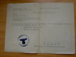 Einschreiben Zum Milliter- Feldpostbrief - 1939-45