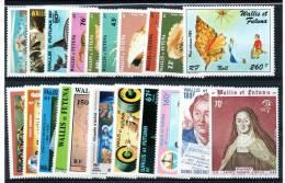 WALLIS Et FUTUNA: Année Complète 1984 ** - Wallis And Futuna