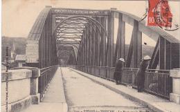23268 PIERRE-LA-TREICHE .- Pont Sur Moselle Imauguré Mougeot Sous Secretaire D'état -ed Gardolle Briquet Toul - 2 Femmes