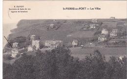 23270 SAINT St-PIERRE-EN-PORT -76 - Les Villas -  Dutot Souvenirs Bains Mer Agence Location - France