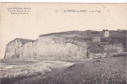 23271 SAINT St-PIERRE-EN-PORT -76 - La Plage -  12 Bougon -dutot Souvenirs Bains Mer Agence Location - France