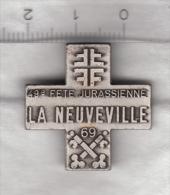 Broche De La 49e Fête Jurassienne De Gymnastique - La Neuveville 1969 - Gymnastique