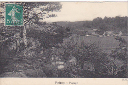 23274 POIGNY--Paysage -ed M.D.