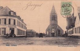 Pecq 13: La Place 1905 - Pecq