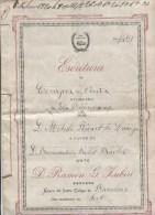 ACTE DE VENTE - 30 DECEMBRE 1917 - ABOCADO - NOTARIO DEL ILLUSTRE COLEGIO DE BARCELONA - Other