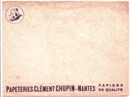 - BUVARD PAPETERIE  - Clément Chupin Nantes - Rousseurs - Stationeries (flat Articles)