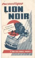 - BUVARD  Encaustique Droguerie - Encaustique Lion Noir - Petites Taches - Buvards, Protège-cahiers Illustrés