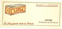 Buvard Thé Lipton TTB - Buvards, Protège-cahiers Illustrés
