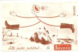 Buvard Buvard Elle Passe Partout La Botte Baudou La + Forte Production Mondiale - Textile & Clothing