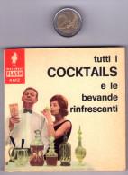 1967. Miniricettario Vintage FLASH AMZ Marabout. N°.13. Cocktails. - Casa E Cucina