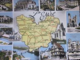 CPSM L'Eure Département Français, L'un Des Cinq Départements Issus Du Découpage De L'ancienne Province De Normandie - France