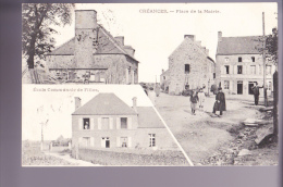 Cpa 50 Créances Place De La Mairie - Carteret