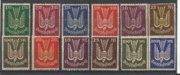 1923 Filigrane B Yt 8-19 Format Grand - Poste Aérienne