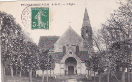23294 PRUNAY-SOUS-ABLIS -  ÉGLISE -ed Bougardier Dourdan -arbres Sans Feuilles - France