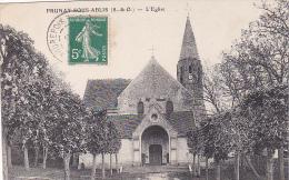 23294 PRUNAY-SOUS-ABLIS -  ÉGLISE -ed Bougardier Dourdan -arbres Sans Feuilles