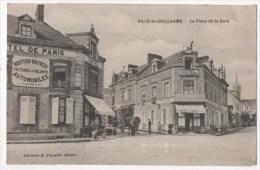 SILLE LE GUILLAUME - La Place De La Gare - Hôtel De Paris - Sille Le Guillaume