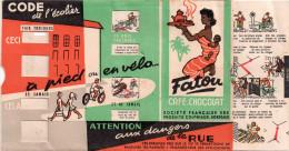 Petit Code De L'écolier Offert Par Le Café PATOU, Partie Mobile, L'agent Et Le Signaux Lumineux (vxp) - Publicités