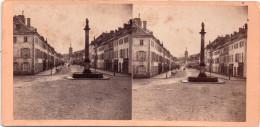 Photo Stéréo, SAINT DIE, Grand'rue, Vue De La Place Des Vosges (32.31) - Lieux