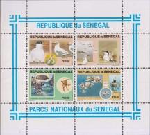 Turtle, Tortoise, Bird, Crab, MS MNH Senegal - Senegal (1960-...)