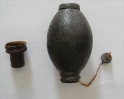 Dutch No 1 Egg Grenade Grante Inert Néerlandais WW2 WWII Eierhandgranate #1 - 1939-45