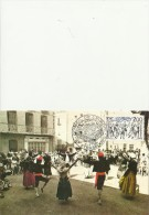 FRANCE 1981 - CARTE MAXIMUM - EUROPA - CONSEIL D´EUROPE:DANCE LA SARDANE- BAILE LA  SARDANA  AV.1  TIMBRES  DE 2,00(EURO - 1980-89