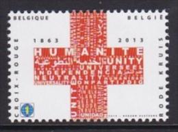 2013 - XX - Het Internationale Rode Kruis Bestaat Anderhalve Eeuw / Les 150 Ans De La Croix Rouge Internationale - Belgique