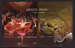 Mexique.  Danses Traditionnelles Du Mexique Et De L´Inde. Emission Conjointe. BF Neuf **  2010 - Dance