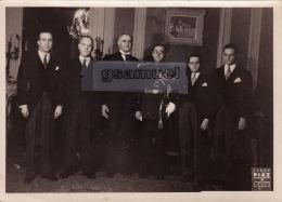 Photographie Originale -  Brésil - Ambassadeur Du Brésil - Ambassade Du Brésil En France. - (Format 18 Cm Par 13 Cm). - Photos
