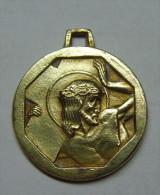 """Medaille Religieuse """" Christ """" - Art Deco - Religión & Esoterismo"""