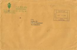 St Kitts 2000 Basseterre Official Paid Unfranked Cover - St.Kitts En Nevis ( 1983-...)