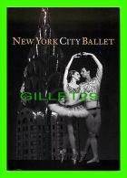 DANCE - PUBLICITÉ - ADVERTISING - NEW YORK CITY BALLET - 1998 WINTER SEASON - GO-CARD - - Danse