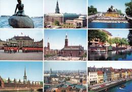 COPENHAGEN Mehrbilderkarte Gelaufen - Dänemark