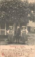 VIERLÄNDER IN COSTUME FOLKLORE DEUTSCHLAND 1900 - Costumi