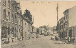 Vi-91-   Vielsalm - Rue De La Gare - Desaix - 2 Scans - Vielsalm