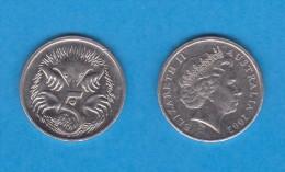 AUSTRALIA  5 CENTIMOS  2.002  CU-NI   KM#401  MBC/VF   DL-10.763 - 5 Cents