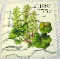 Ireland 2006 Flower Navelwort 75c - Used - 1949-... Repubblica D'Irlanda