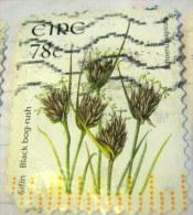 Ireland 2007 Flower Black Bog Rush 78c - Used - 1949-... Repubblica D'Irlanda
