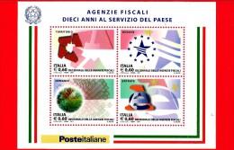 Nuovo - ITALIA - 2011 - Agenzie Fiscali - BF - 0,60 € × 4 (€) - Territorio, Dogane, Demanio, Entrate - 6. 1946-.. Republic