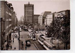 REF 170  : CPSM Allemagne Dusseldorf Tramway Camion - Tramways