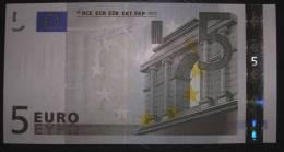 5 EURO L025E5 France Charge 66 Serie U Perfect UNC - EURO