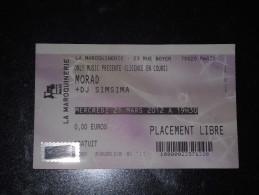 Ticket De Concert Morad + DJ Simsima - Tickets De Concerts