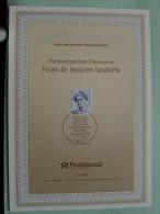 FRAUEN DER DEUTSCHEN GESCHICHTE / Ersttagsblatt 11.06.1992 - 21/1992 ( Zie Foto´s Voor Details ) - Germany