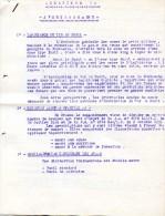 Militaria VP - Directive Concernant Le Tir Au Fusil - Instruction Technique - Arme - Juillet 1959 - Voir Extraits - Documents